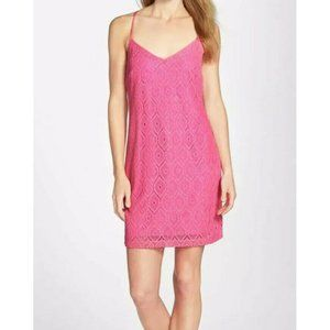 Lilly Pulitzer Dusk Dress In Metallic Sparkly Lace
